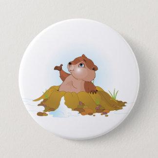 Pin's Bouton de Groundhog