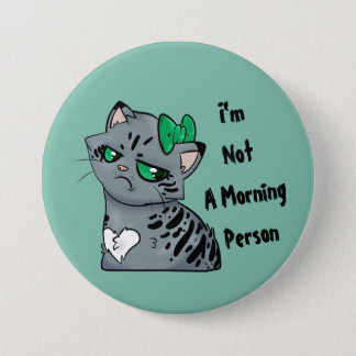 Pin's Bouton de Kitty Makenzee de matin