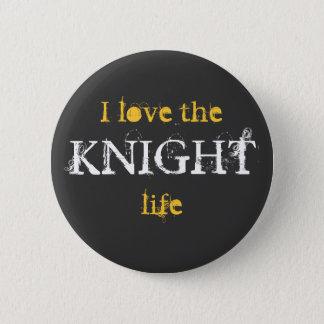 Pin's Bouton de la vie de chevalier