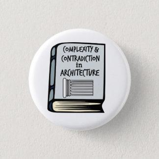 Pin's Bouton de livre de complexité et de contradiction