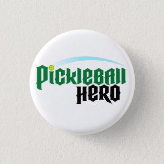 """Pin's Bouton de logo """"de héros de Pickleball"""""""