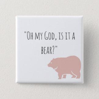 Pin's Bouton de l'ours d'Ian