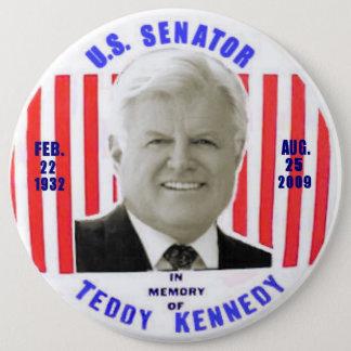 Pin's Bouton de mémorial de Kennedy de nounours