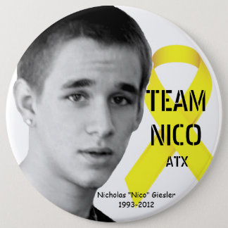 Pin's Bouton de Nico d'équipe