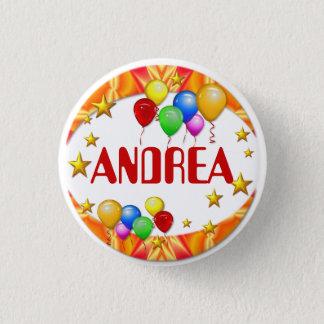 Pin's Bouton de nom de ~ de ballons et d'étoiles