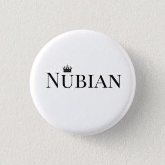 Pin's Bouton de Nubian noir et blanc