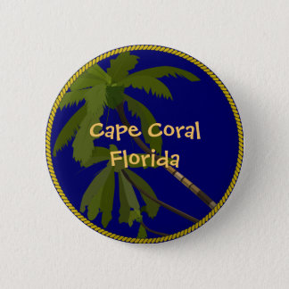 Pin's Bouton de palmier de la Floride de cap/goupille de