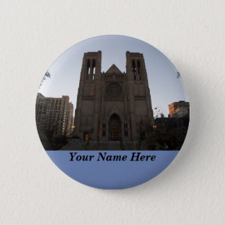 Pin's Bouton de Pinback de cathédrale de grâce de San