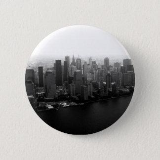 Pin's Bouton de Pinback d'horizon de New York