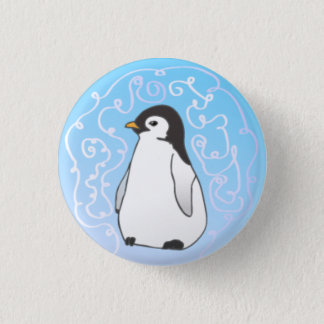 Pin's Bouton de pingouin