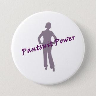 Pin's Bouton de puissance de Pantsuit pour le nastywoman