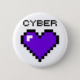 Pin's Bouton de Purple Heart de guerre de Cyber