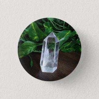 Pin's Bouton de quartz
