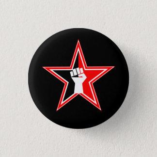 Pin's bouton de révolutionnaire d'Anarcho-syndicaliste