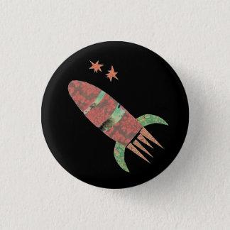 Pin's Bouton de Rocket de tir