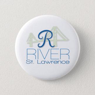 Pin's Bouton de Saint-Laurent de rivière de R