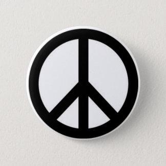 Pin's Bouton de signe de paix