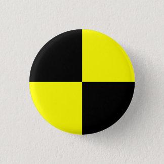 Pin's Bouton de simulacre d'essai d'accident