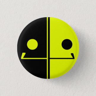 Pin's Bouton de sourire de robot