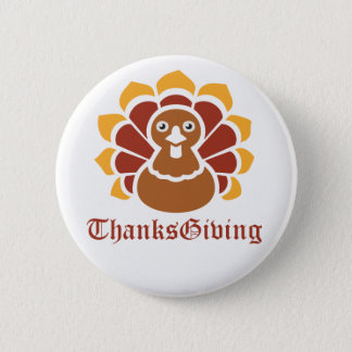 Pin's Bouton de thanksgiving