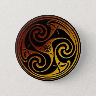 Pin's Bouton de Triskele de Celtic