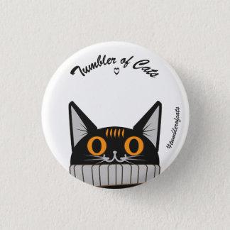 Pin's Bouton de TumblerofCats - citrouille TumblerCat