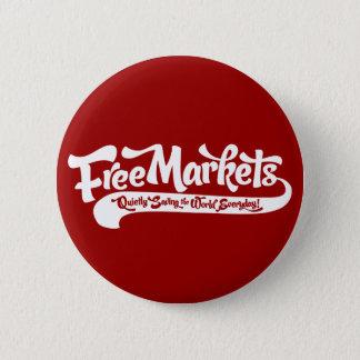 Pin's Bouton des marchés libres