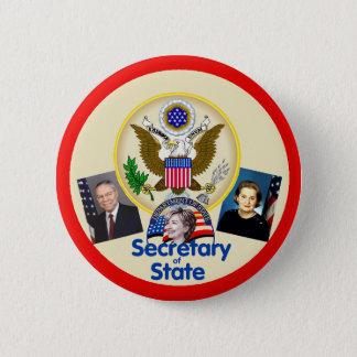 Pin's Bouton d'état de Hillary