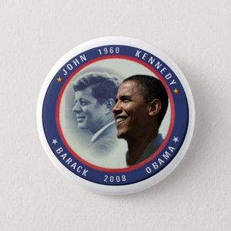 Pin's Bouton d'Obama JFK