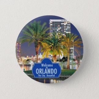 Pin's Bouton d'Orlando la Floride