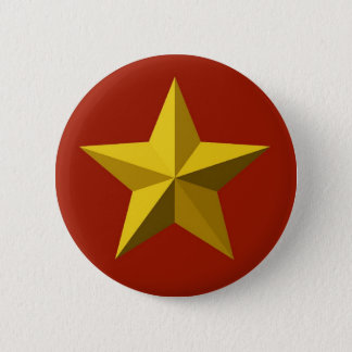 Pin's Bouton - étoile d'or