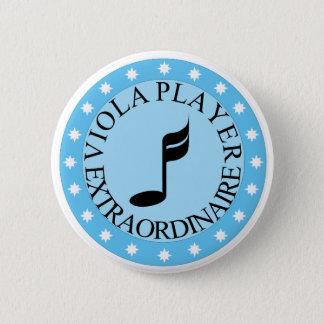 Pin's Bouton Extraordinaire de joueur d'alto