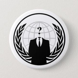 Pin's Bouton international anonyme