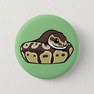 Pin's Bouton mignon d'insigne de dessin de serpent
