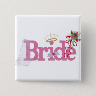 Pin's Bouton nuptiale