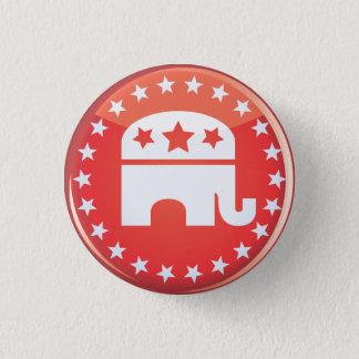 Pin's Bouton républicain d'éléphant
