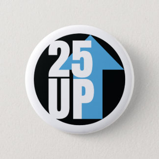 Pin's Bouton rond de CA25UP