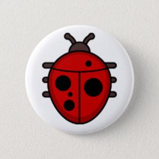 Pin's Bouton rond standard de Ladybird