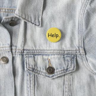 Pin's Bouton SAISI d'aide
