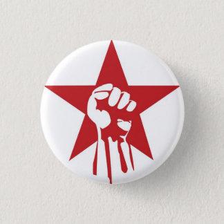 Pin's Bouton socialiste de poing
