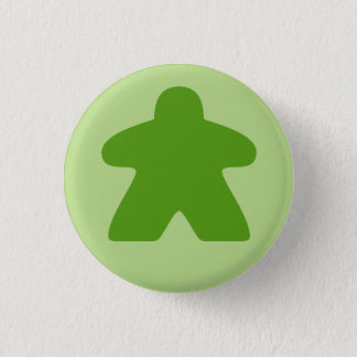 Pin's Bouton vert de Meeple