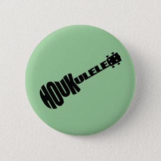 Pin's Boutons - logo de Houkulele - rond vert