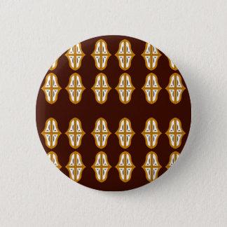 Pin's Brun vintage et or du Maroc