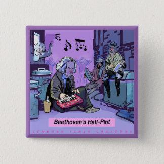 Pin's Cadeau drôle de demi de pinte de Beethoven