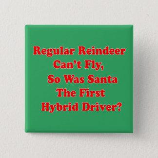 Pin's calembour d'hybride du renne de père Noël