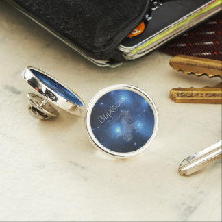 Pin's Capricorne transparent