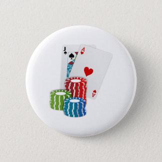 Pin's Cartes et puces de tisonnier