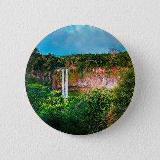 Pin's Cascade tropicale de forêt tropicale
