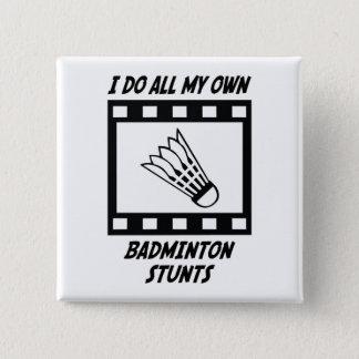 Pin's Cascades de badminton