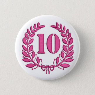 Pin's célébration dix